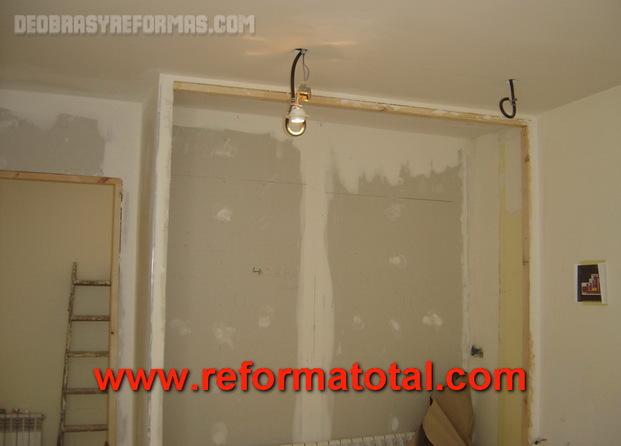 Casa de este alojamiento armario empotrado pladur o madera - Estructura armario empotrado ...