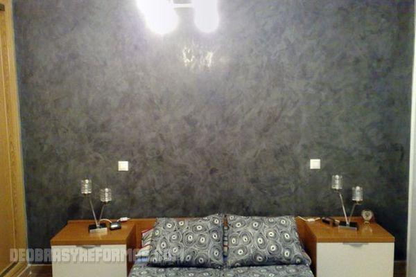 T cnicas para simular paredes metalizadas - Tecnicas de pintura paredes ...