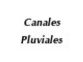 Canales Pluviales