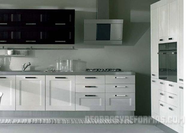 ... Marrón Cocina Moderna